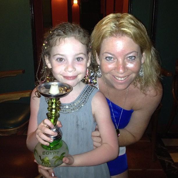 Emily winning Bingo!!